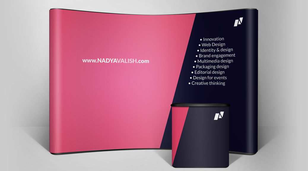 Graphic design for trade show conferences event
