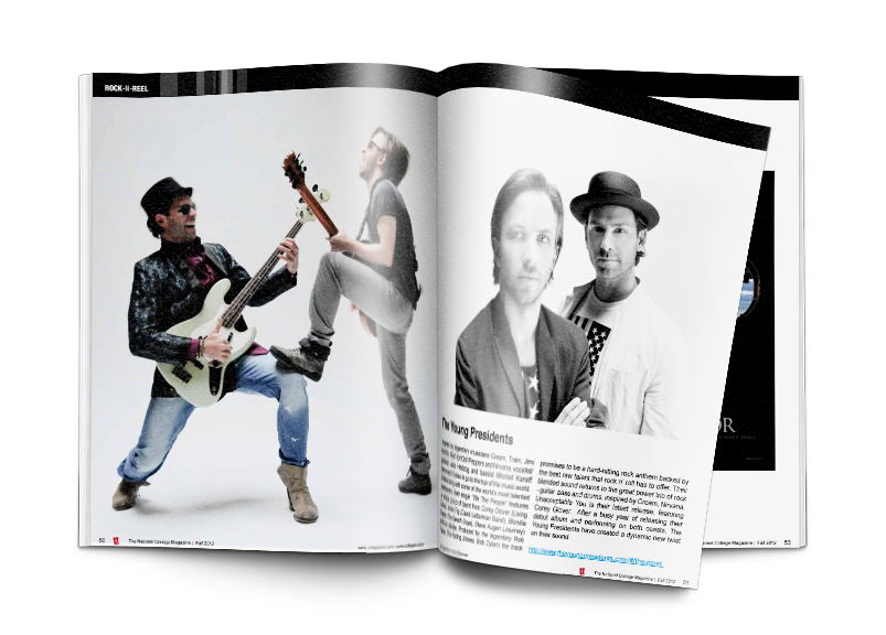 Pages inside U Magazine©