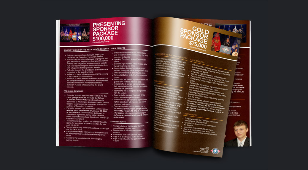 Print brochure Inner pages design
