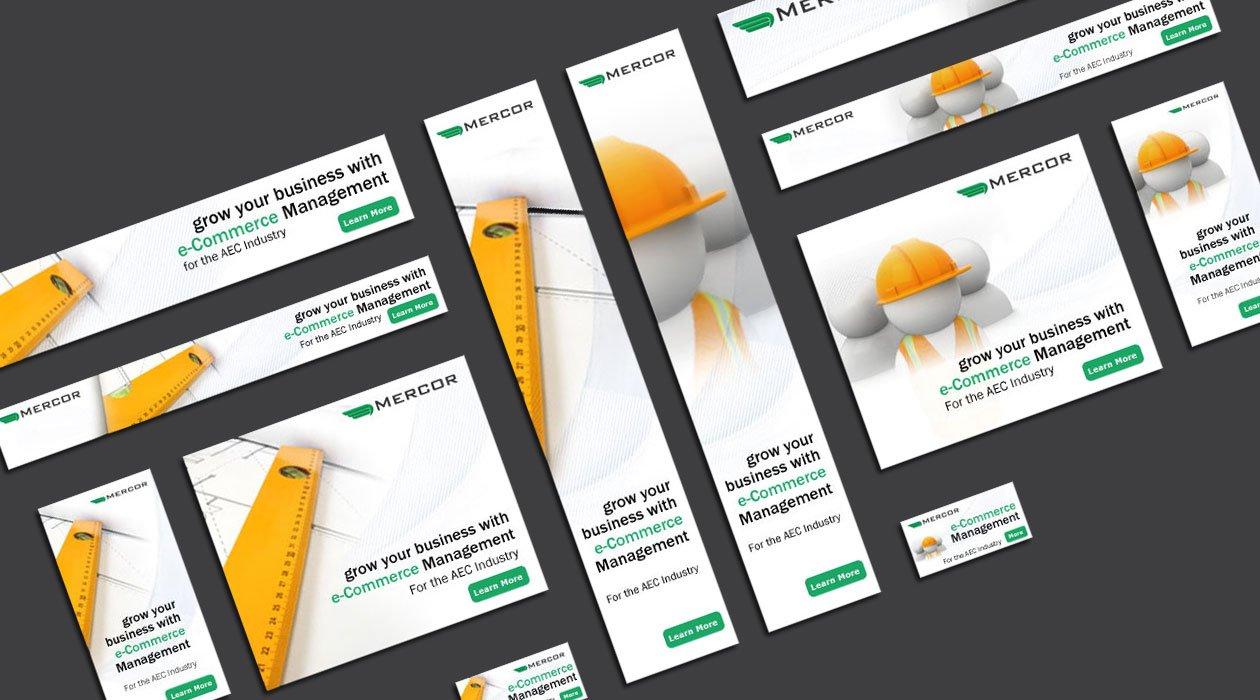 Design for online marketing Mercor
