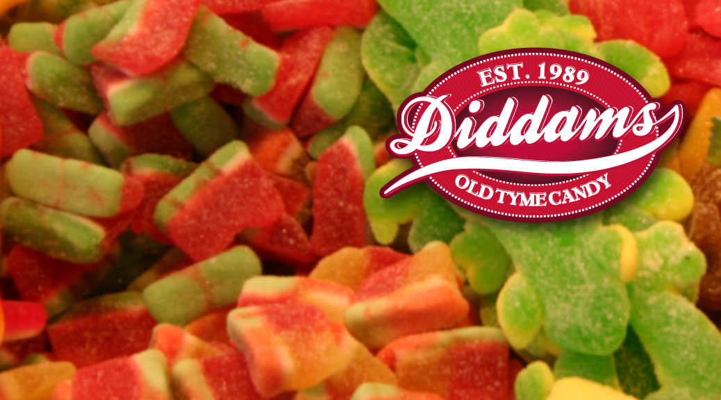 Logotype design for Diddams candy store