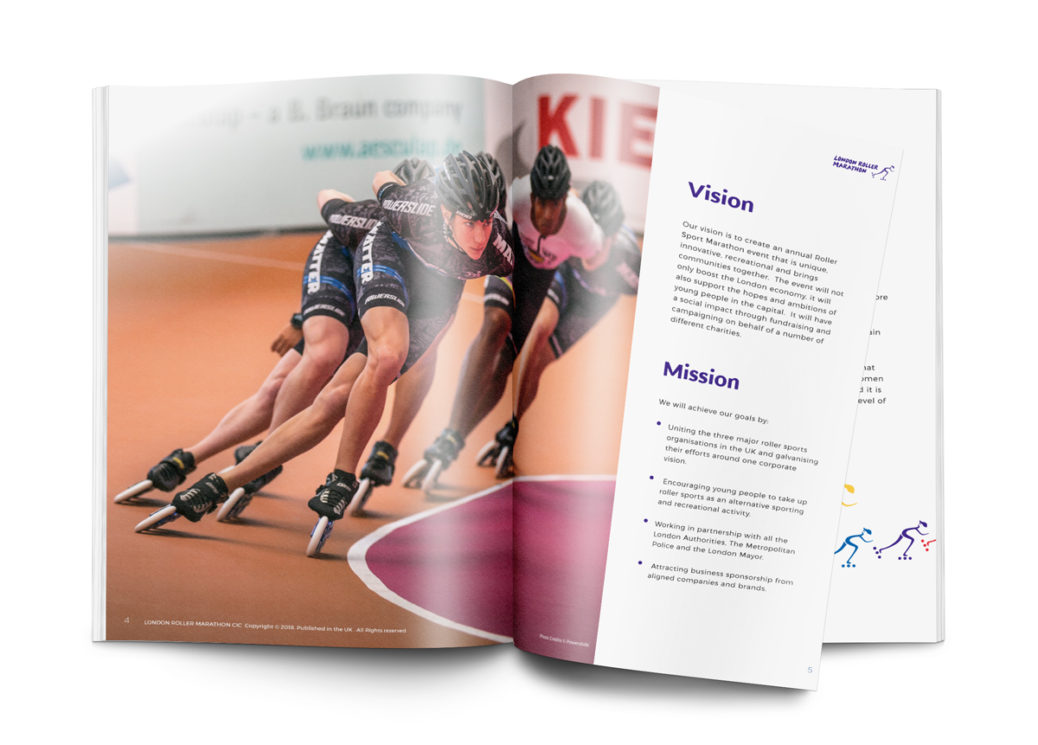 Sponsorship brochure design